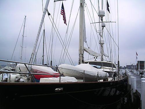 My yacht- ha!