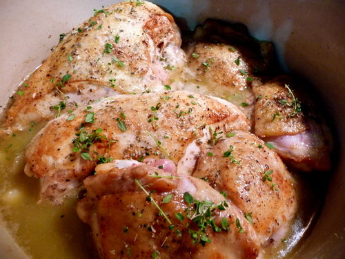 Chicken after Browning