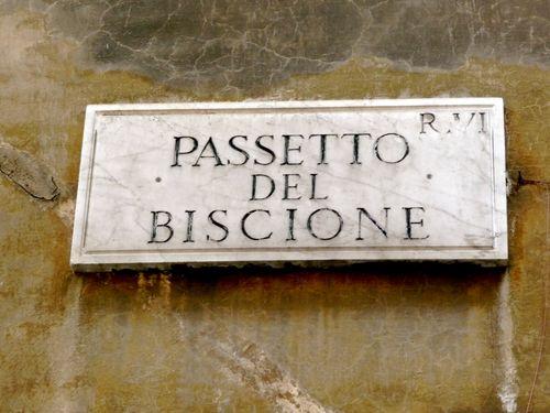 Roman Street Sign