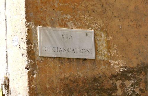 Via De Ciancaleoni, Rome