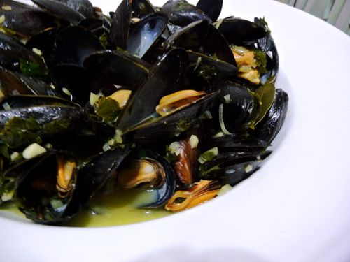 Moules Mariniére