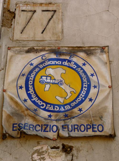 Roman Sign 77
