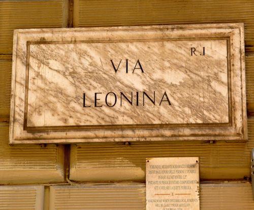 Via Leonina, Rome