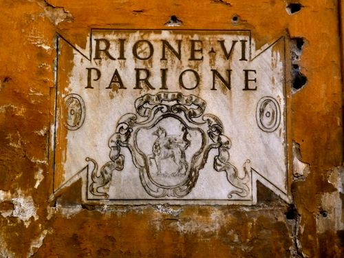 District of Parione Sign